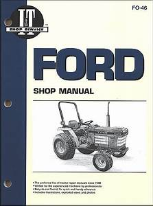 Ford Farm Tractor Repair Manual  1120  1220  1320  1520  1720  1920  2120