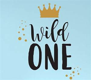 Wall Decal for Kids - Wild One - Where The Wild Things Are