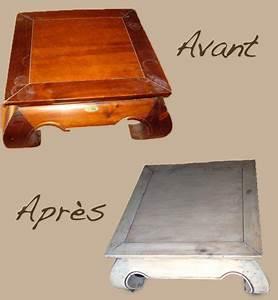 Peinture Effet Bois Flotté : table opium maison du monde poncer appliquer une ~ Dailycaller-alerts.com Idées de Décoration