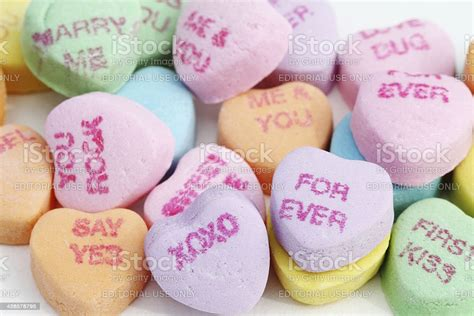 Sweethearts Candies Stock Photo Download Image Now Istock