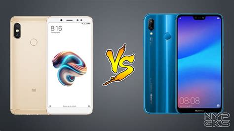 Xiaomi Redmi Note 5 vs Huawei P20 Lite: Specs Comparison ...