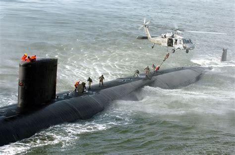 military  fast roping  submarine