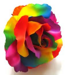 cheap artificial flowers 2x rainbow roses artificial silk flower heads 6 inches