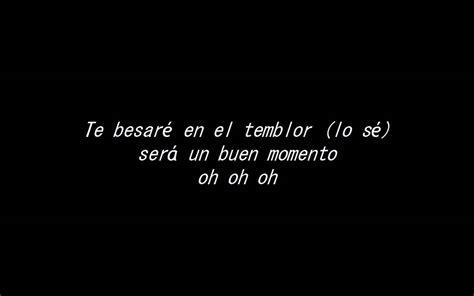 Cuando Pase El Temblor (letras)