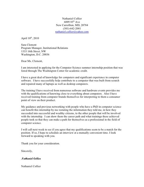 Sampel cover letter
