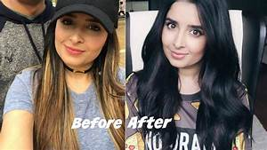 How I Dye My Hair At Home Blonde To Black YouTube
