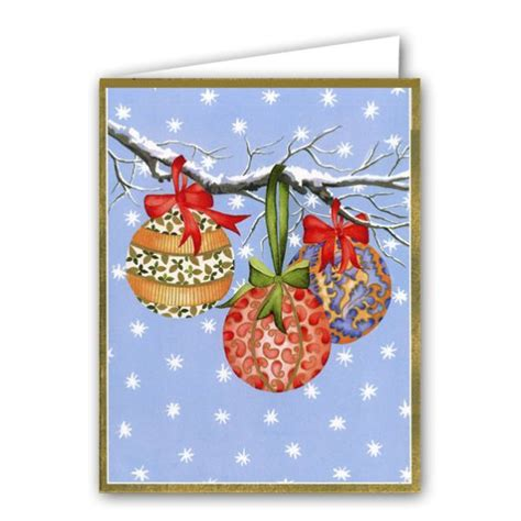 ornaments boxed christmas cards paperstyle
