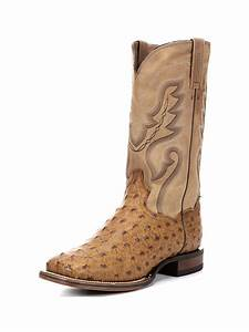 Men's Danpost Chandler Ostrich Skin Boot - DP2984JC