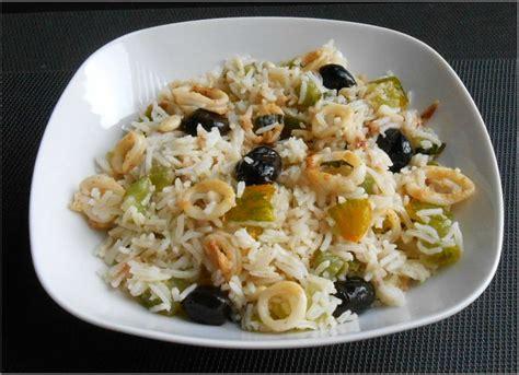 cuisine salade de riz salade de riz aux encornets hepirite cuisine bioquotidienne et vins biodynamisants