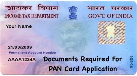 documents required  pan card   pan card documents