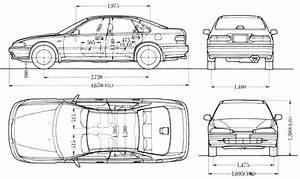 Honda Civic Eg Drawing