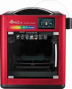 Da Vinci 3d Drucker : da vinci color 3d drucker da vinci color bei reichelt elektronik ~ Orissabook.com Haus und Dekorationen
