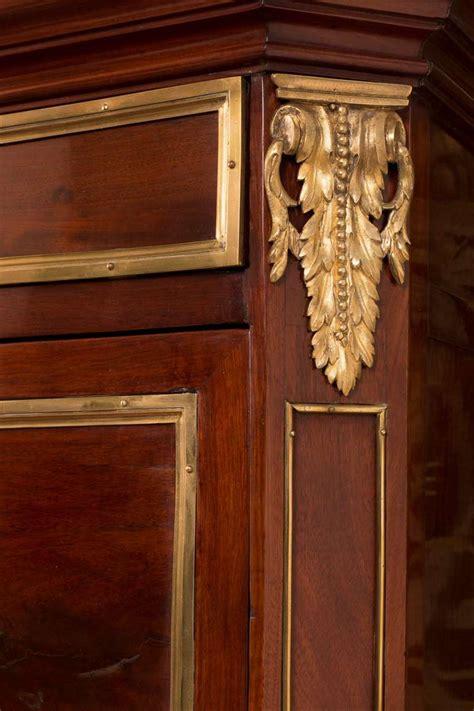 bureau leclerc meuble louis xvi brass mounted mahogany bureau cabinet sted c