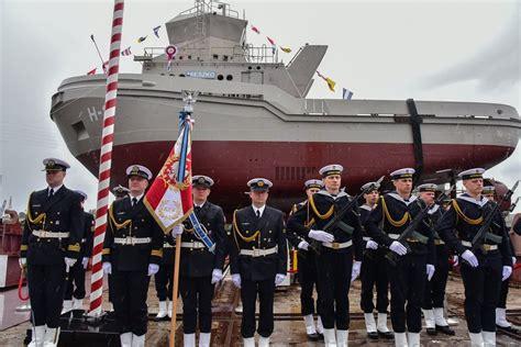 Poland launches third navy tug Mieszko - Naval Today