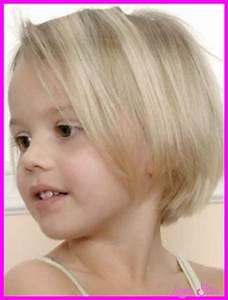 Little Girl Short Haircut Bob