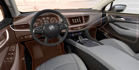2019 buick enclave mid size luxury suv interior features