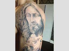 Tatouage Vierge Avec Chapelet Tattoo Art