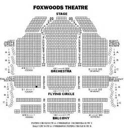 foxwoods theater seating