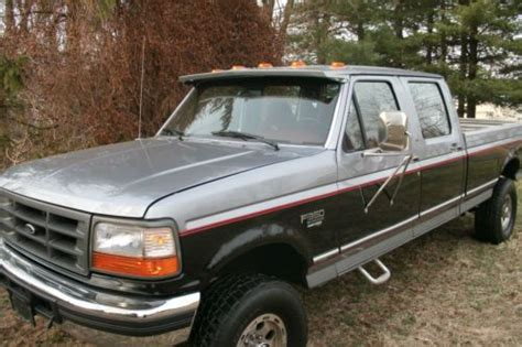 buy     crew cab power stroke  long bed