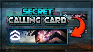 Emblems are similar, adding a badge of honor to your profile. 【How to】 Unlock Calling Cards In Modern Warfare