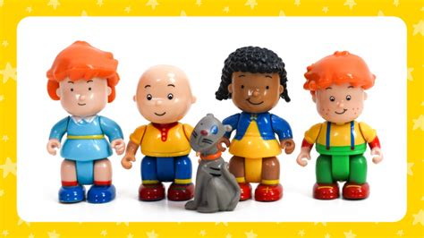 Make A Christmas Tree For Your Caillou Figures!