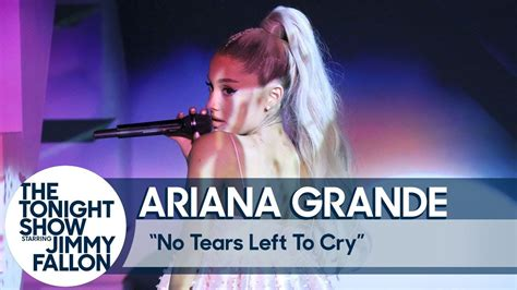No Tears Left To Cry Ariana Grande Queen Ari T Ariana