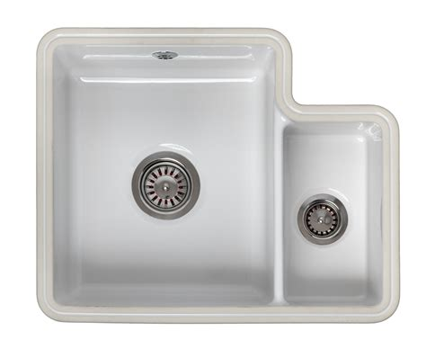 ceramic undermount kitchen sinks 1 5 reginox tuscany 1 5 bowl ceramic undermount sink worktop 8119