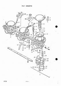 Suzuki T500 Carburetor Diagram