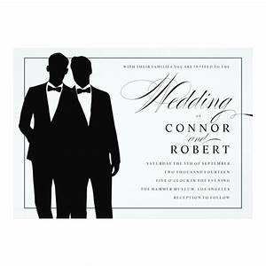 wedding wednesday same sex wedding invites zazzle blog With free printable gay wedding invitations