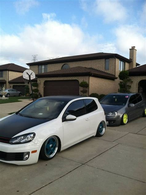 slammed volkswagen golf 29 best images about golf on pinterest volkswagen