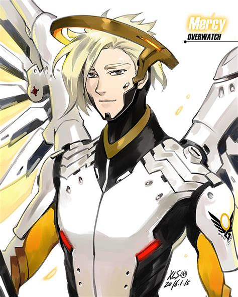 Male Mercy Overwatch Know Your Meme