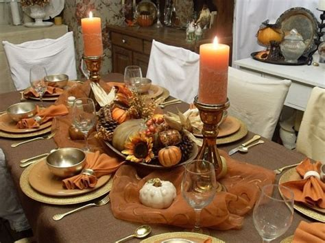 vintage  shabby chic thanksgiving decor ideas digsdigs