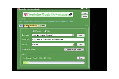 free music downloader youtube online