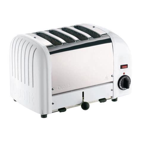 Dualit Vario 4 Slice Toaster - dualit 2 x 2 combi vario 4 slice toaster white 42177