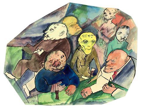 George Grosz (1883-1959) , Gesellschaft | Christie's