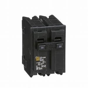 Square D Hom230   Miniature Circuit Breaker 120  240v 30a