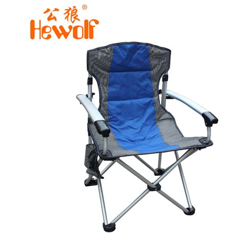 hewolf outdoor products portable folding chair thickening