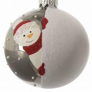 Boule De Neige Noel : set di 6 palle di natale pupazzi di neve palline di ~ Zukunftsfamilie.com Idées de Décoration