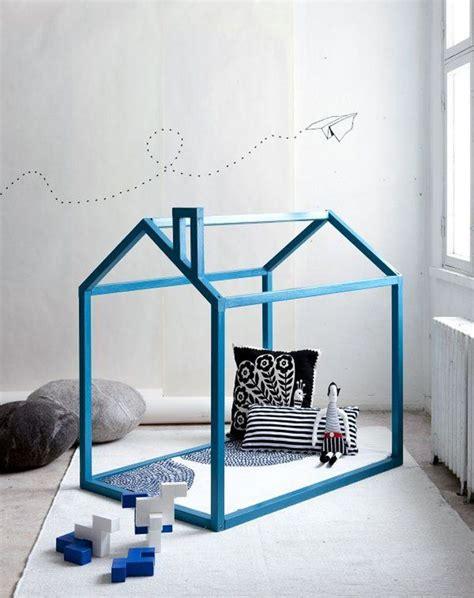 cabane pour chambre diy lit cabane modèles originaux pour les enfants