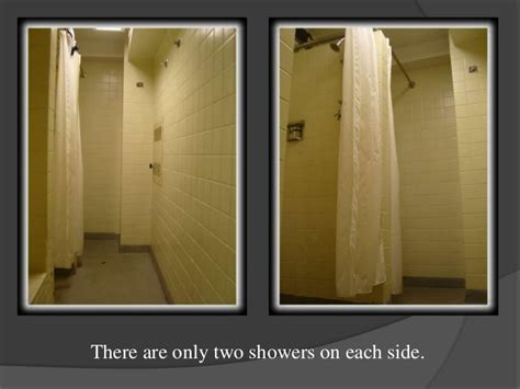 Shower of Harrison Hall at Purdue University