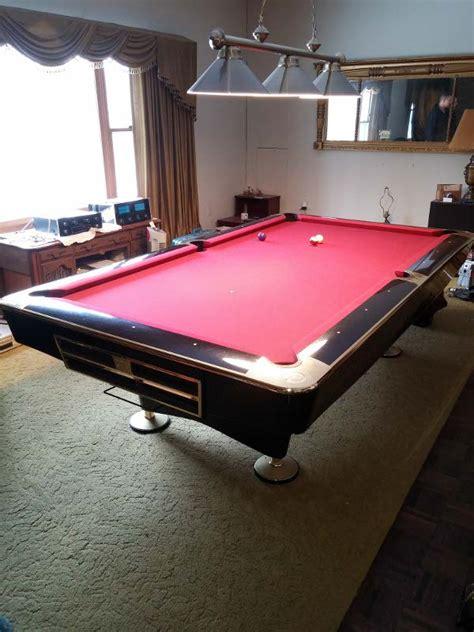 brunswick 8 pool table 8 39 brunswick gold crown iv for sale in piano black