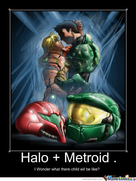 Metroid Memes - halo metroid by drgood meme center
