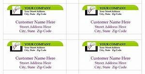 company mailing labels modern design of address label template