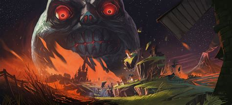 Best Of Zelda Majoras Mask Fan Art By Danlev On Deviantart
