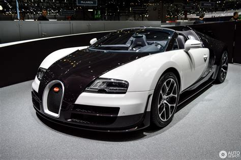 bugatti gold and white geneva 2014 bugatti veyron 16 4 grand sport vitesse