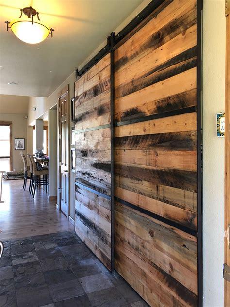 sliding barn doors custom  bend oregon  scavenger