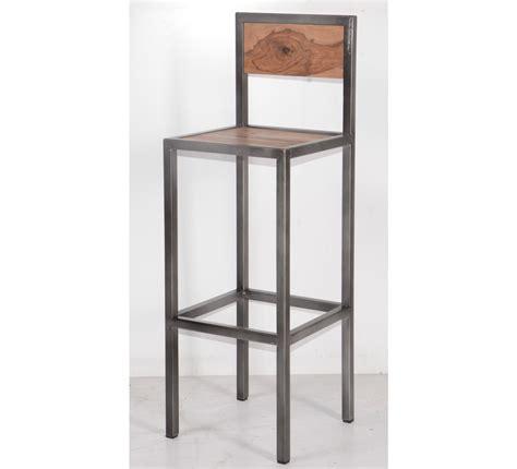 chaise en fer industriel beau table basse en fer forge et verre 13 accueil tabouret de bar industriel en m233tal et