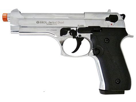 Ekol Jackal Dual Chrome Blank Gun |replicaairguns.us