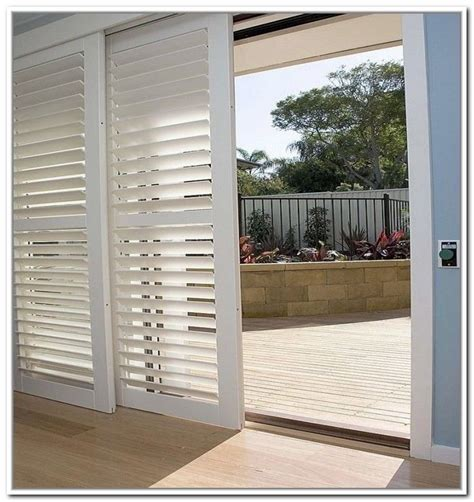 Shutters For Sliding Glass Doors by Bypass Plantation Shutters For Sliding Glass Doors Joe