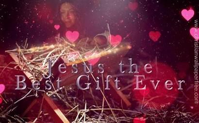 Christian Ever Jesus Gift Christianwallpaperfree Nativity Gifs